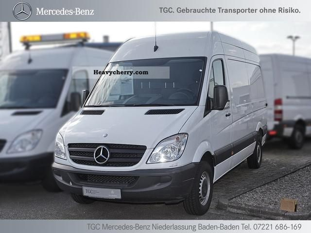 mercedes benz sprinter 213 cdi long wheelbase 3665mm high 2010 box type delivery van high and. Black Bedroom Furniture Sets. Home Design Ideas