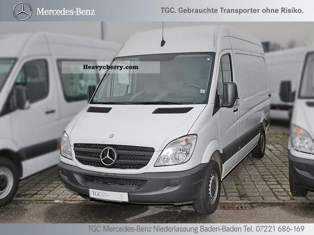 mercedes benz sprinter 213 cdi wheelbase 3665mm 2009 box type delivery van high and long photo. Black Bedroom Furniture Sets. Home Design Ideas