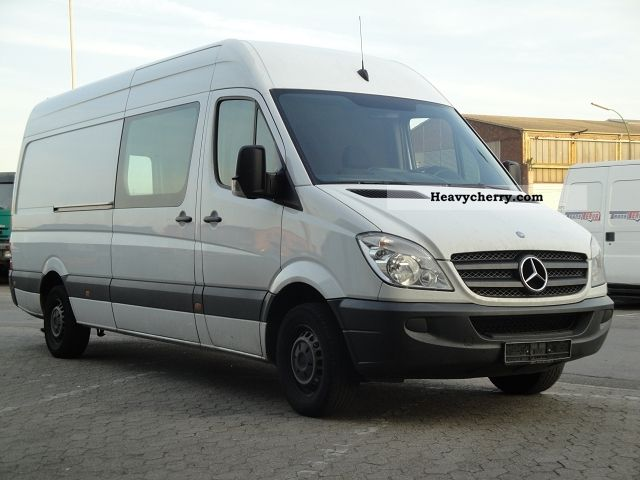 mercedes benz sprinter 316 cdi maxi lang high climate control 2009 box type delivery van. Black Bedroom Furniture Sets. Home Design Ideas