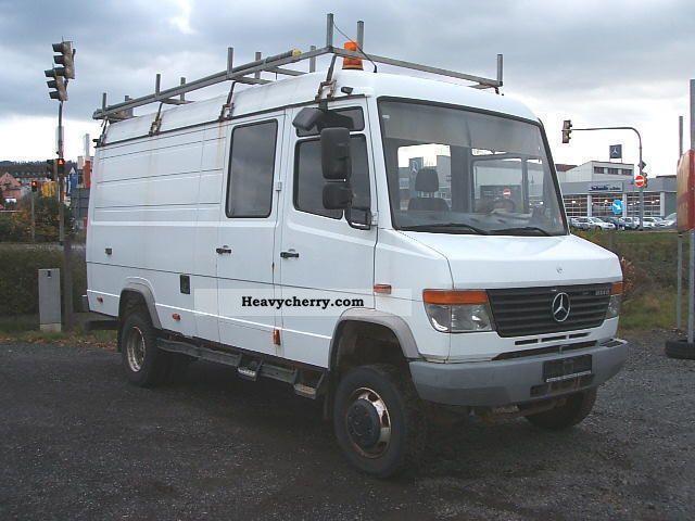Mercedes benz vario 814 4 x 4 a l l r a d for Mercedes benz vario 4x4 for sale