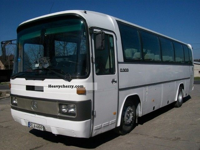 Mercedes benz 303 1987 cross country bus photo and specs for What country is mercedes benz from