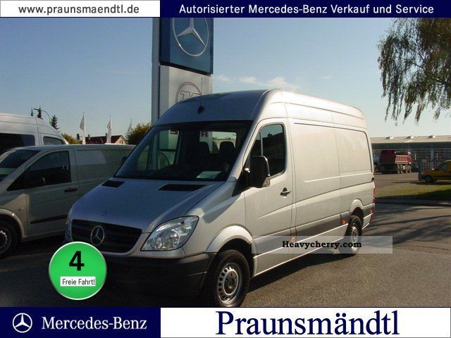 2009 Mercedes-Benz  215 CDI Sprinter RS ​​3665 automatic climate Van or truck up to 7.5t Box-type delivery van photo