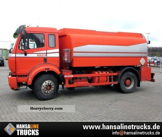 Mercedes-Benz 1827 A3 TANKERS FOR DIESEL FUEL OIL \u0026