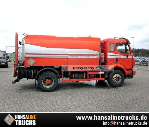 Mercedes-Benz 1827 A3 TANKERS FOR DIESEL FUEL OIL \u0026