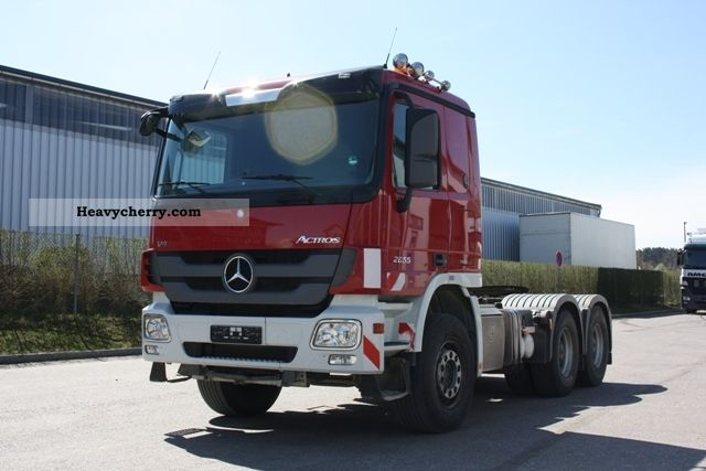 2009 Mercedes-Benz  Actros 2655 LS Semi-trailer truck Standard tractor/trailer unit photo
