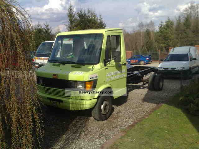 1992 Mercedes-Benz  410D kaczka 3500DMC Van or truck up to 7.5t Chassis photo