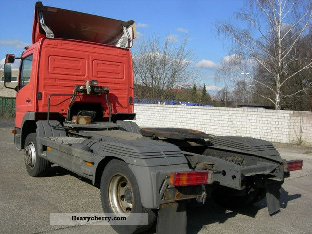 Mercedes Benz 1323 Air Conditioning Euro 3 2000 Standard