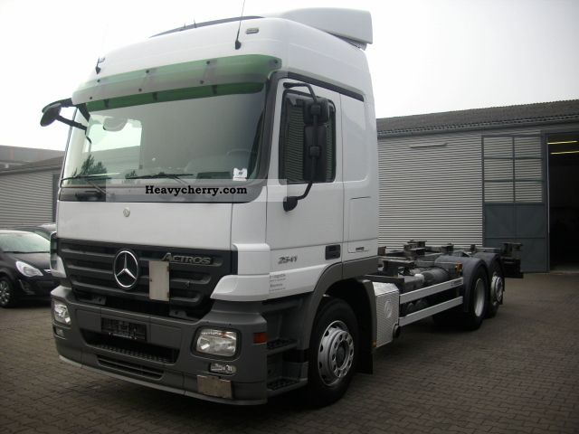 Mercedes benz actros 2541 6x2 bdf swap l 2008 swap chassis for 2008 mercedes benz truck