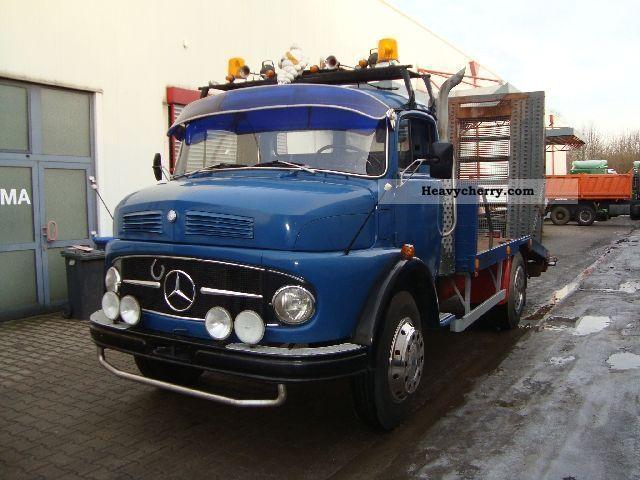 Mercedes benz ls 710 vintage tow truck damage 1966 other for Old mercedes benz trucks