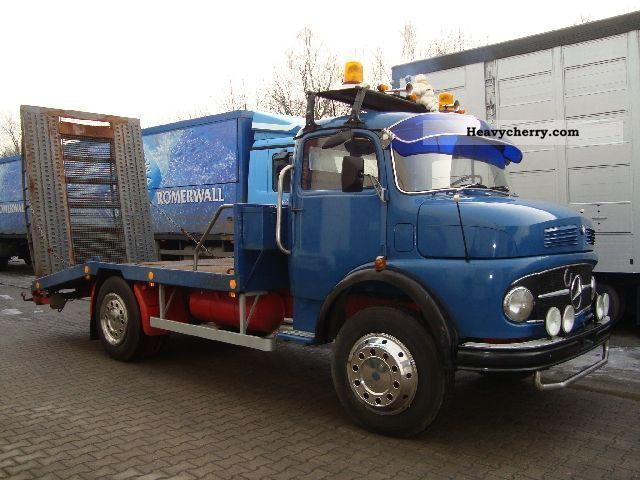 Mercedes benz ls 710 vintage tow truck damage 1966 other for Mercedes benz box truck