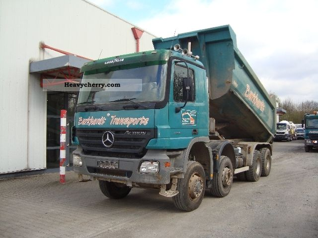 2004 Mercedes-Benz  Actros 4144 8x6 Meiller - Dump Truck Truck over 7.5t Tipper photo