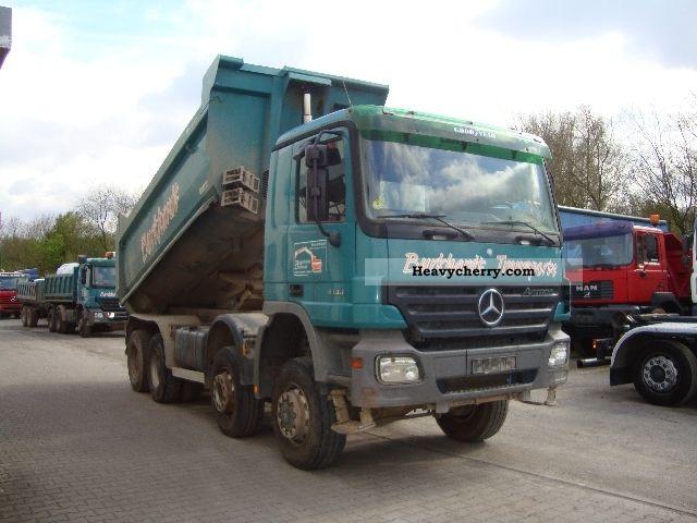 Mercedes benz actros 4144 8x6 meiller dump truck 2004 for Mercedes benz dump truck