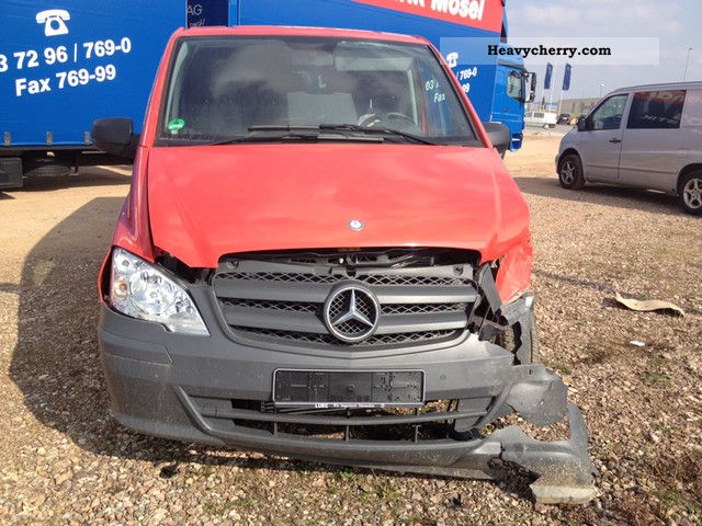 2011 Mercedes-Benz  VITO 113 CDI Extra-long Heater Van or truck up to 7.5t Box-type delivery van - long photo