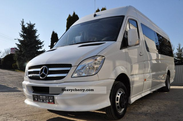 Mercedes benz sprinter 515 cdi xl 2007 other buses and for Mercedes benz sprinter 515 cdi specifications
