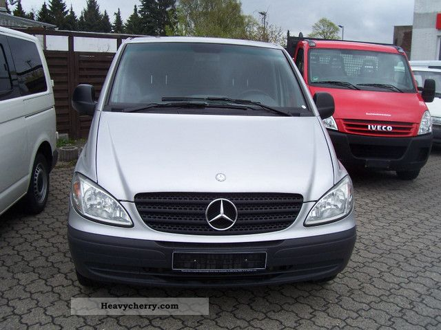 2008 Mercedes-Benz  Vito 111 Extra Long silvermet \ Van or truck up to 7.5t Box-type delivery van - long photo