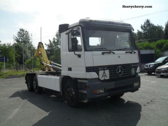 1998 Mercedes-Benz  2648 Air Hook Van or truck up to 7.5t Roll-off tipper photo