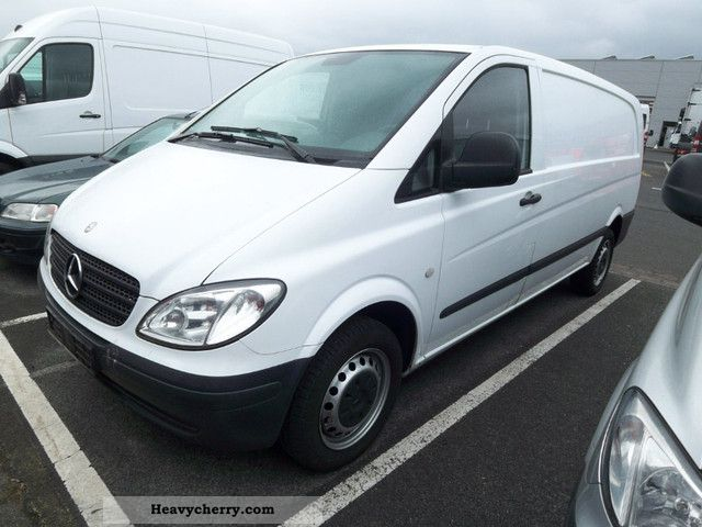 2009 Mercedes-Benz  Vito 109 Extra Long Air Perm truck. Van or truck up to 7.5t Box-type delivery van - long photo