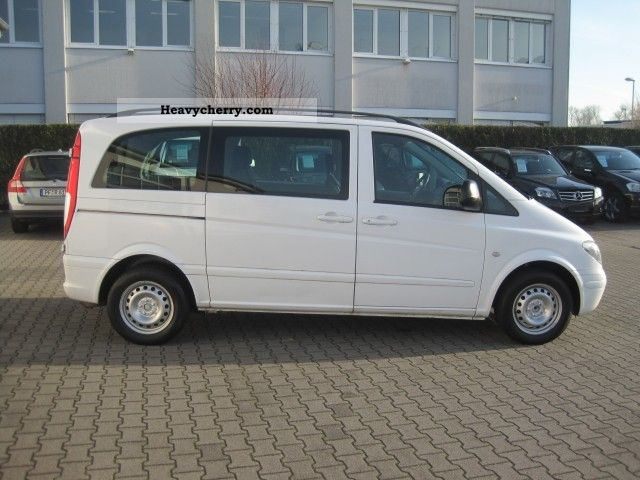 Mercedes benz vito 115 cdi 5 seater air new model combined for Mercedes benz 7 seater models