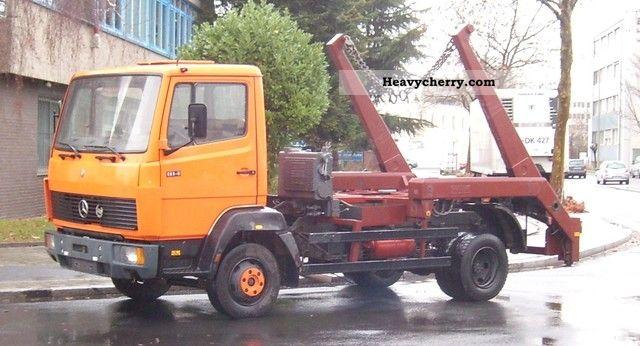 1988 Mercedes-Benz  814 Van or truck up to 7.5t Dumper truck photo