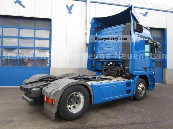 Tractor Trailer Clutches : Mercedes benz ls actros mpii retarder