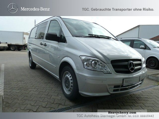 mercedes benz vito 116 cdi mix e long air heater xenon 2011 box type delivery van photo and specs. Black Bedroom Furniture Sets. Home Design Ideas