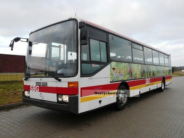 Mercedes-Benz O 408 1998 Cross country bus Photo and Specs