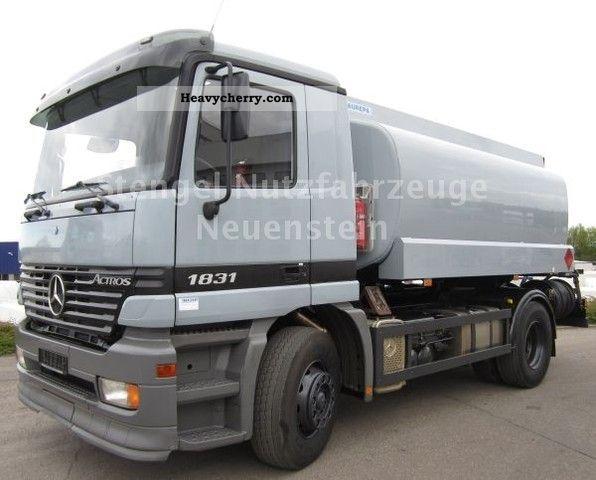 Mercedes-Benz Actros 1831 L 14 600-liter tank cars  Diesel