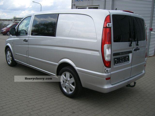mercedes benz vito 120 cdi mixto long climate comand standheiz 2009 estate minibus up. Black Bedroom Furniture Sets. Home Design Ideas