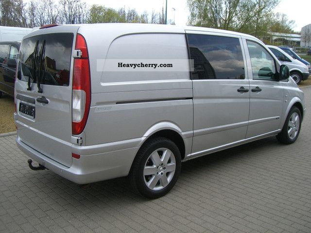 mercedes benz vito 120 cdi mixto long climate comand standheiz 2009 estate minibus up. Black Bedroom Furniture Sets. Home Design Ideas