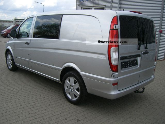 mercedes benz vito 120 cdi mixto long climate comand standheiz 2009 box type delivery van. Black Bedroom Furniture Sets. Home Design Ideas