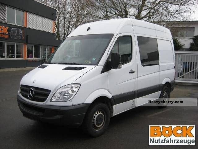 mercedes benz sprinter 311 ka high short 2007 box type delivery van high photo and specs. Black Bedroom Furniture Sets. Home Design Ideas