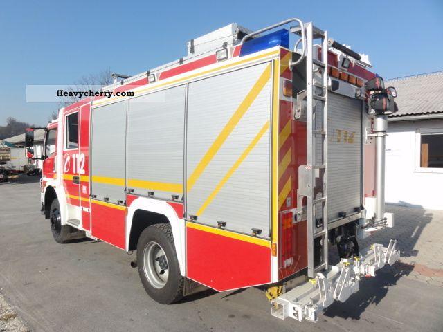 Mercedes-Benz FIRE 4X4 HLF 16/25 1329 ROSENBAUER BLUTEC4