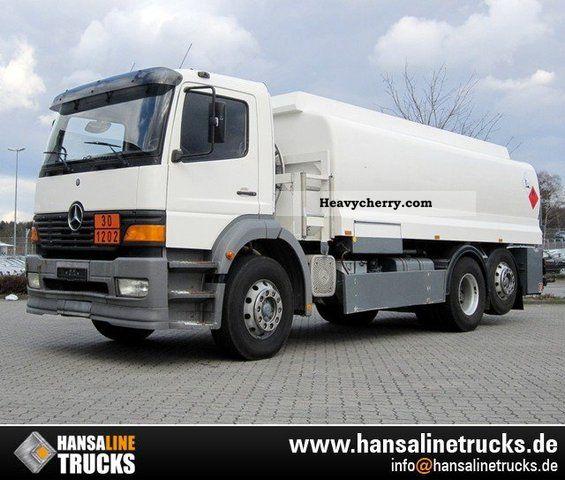 Mercedes benz 2528l 6x2 a3 diesel tanker oil u0026 18 for Mercedes benz diesel oil