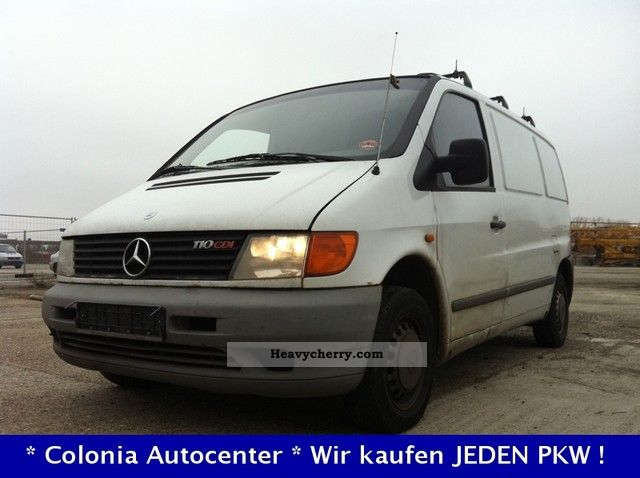 mercedes benz vito 110 cdi 2000 box type delivery van photo and specs. Black Bedroom Furniture Sets. Home Design Ideas