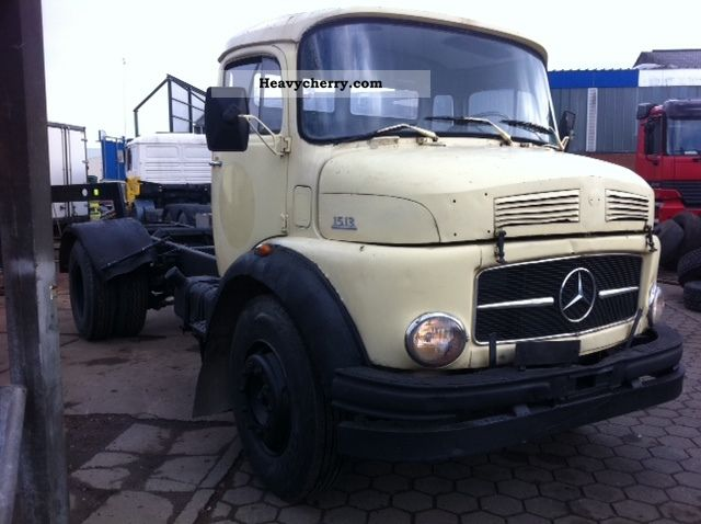1973 Mercedes-Benz  1513 Power, Turbo (911, 1619, 1617, 1113, 1519) Truck over 7.5t Chassis photo