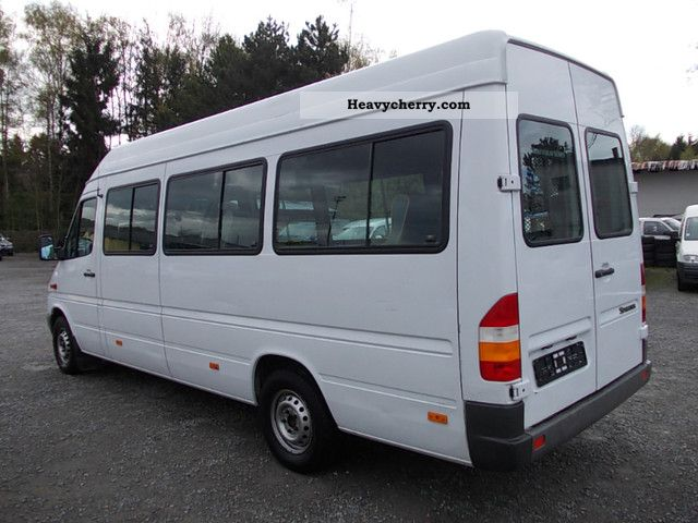 2001 Mercedes-Benz  SPRINTER 311 CDI MAXI 7 SEATER AIR CON Coach Clubbus photo