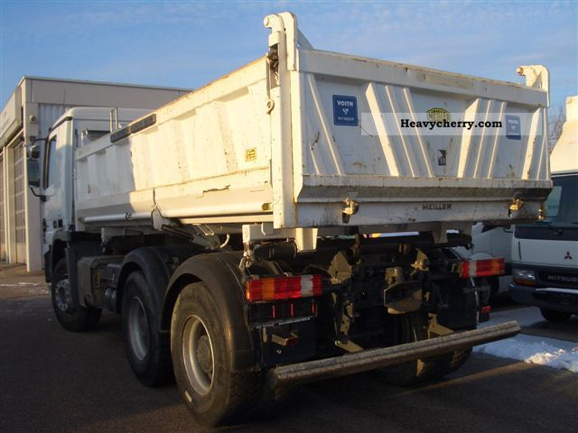 Mercedes benz 2646 k 33 2008 tipper truck photo and specs for 2008 mercedes benz truck