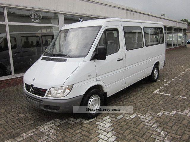 2006 Mercedes-Benz  Sprinter 211 CDI * 8 seats * Standh. * AHK * ABS * TCS * Coach Clubbus photo