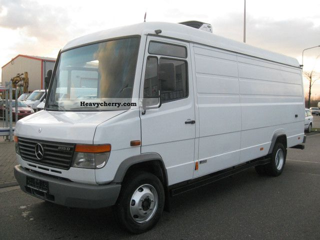 Mercedes benz vario 815 dk 3 tipper van or truck up to 7 for Mercedes benz maker