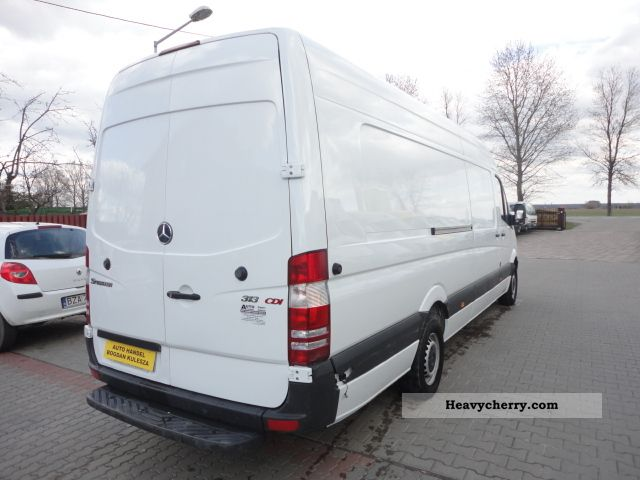bc6f71096e ... 2009 Mercedes-Benz SPRINTER 313 EURO 5 EXTRA LONG AIR! Van or truck up  ...