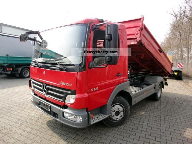 Mercedes benz 9 18 tipper load limit to t gg 2008 for 2008 mercedes benz truck