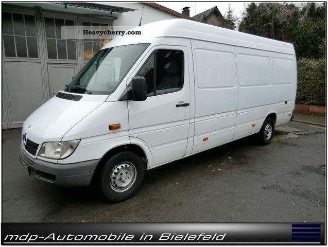 mercedes benz maxi sprinter 308 cdi transporter 2003. Black Bedroom Furniture Sets. Home Design Ideas