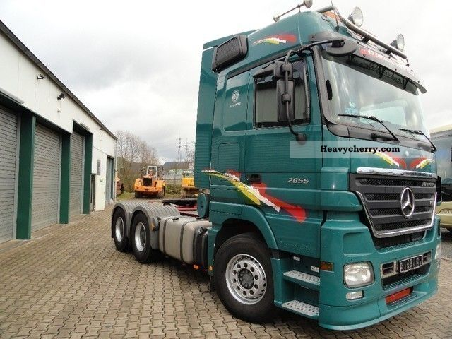 2007 Mercedes-Benz  Actros 2655 6x4 Mega Space Retader/120-t traction Semi-trailer truck Heavy load photo