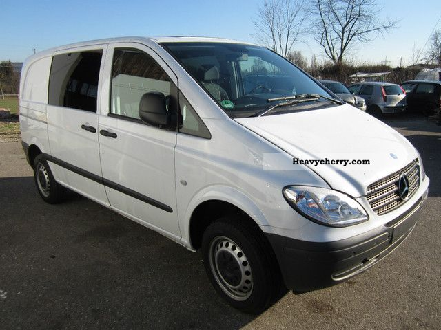mercedes benz vito 115 cdi compact mixto 2009 box type delivery van photo and specs. Black Bedroom Furniture Sets. Home Design Ideas