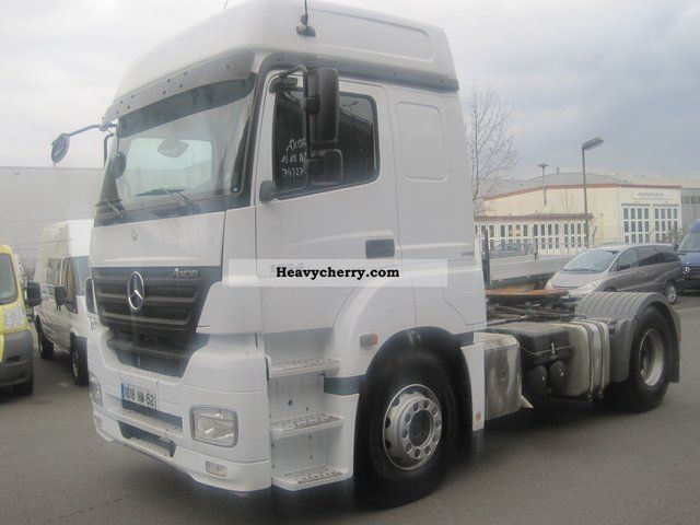 mercedes benz axor mega ii 1836 in mainz bluetec 4 2007 standard tractor trailer unit photo and. Black Bedroom Furniture Sets. Home Design Ideas