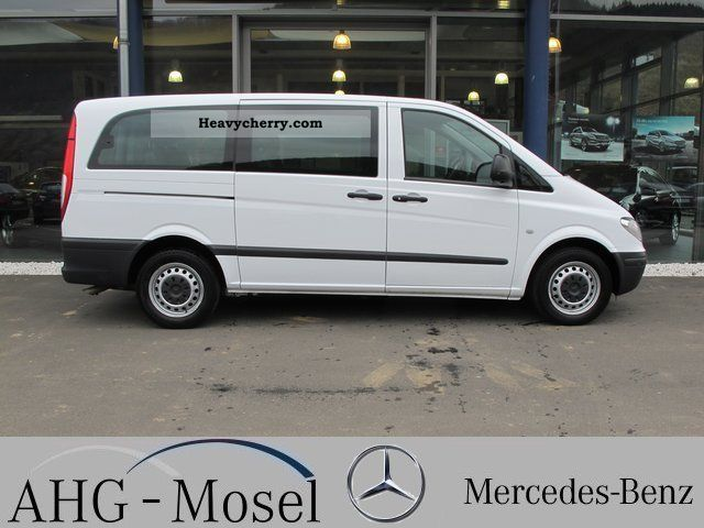 mercedes benz vito 115 cdi combi ii long seater 9 pts air 2009 estate minibus up to 9. Black Bedroom Furniture Sets. Home Design Ideas