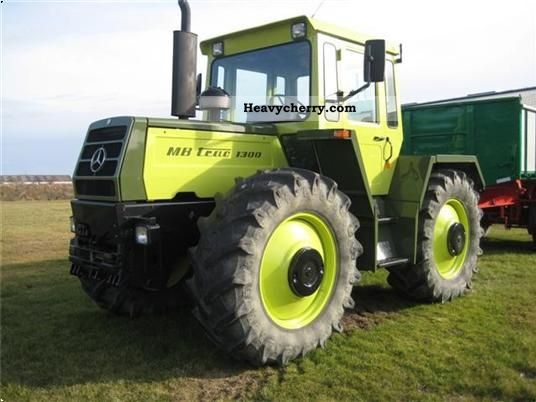 Mercedes Benz Mb Trac 1300 1986 Agricultural Tractor Photo