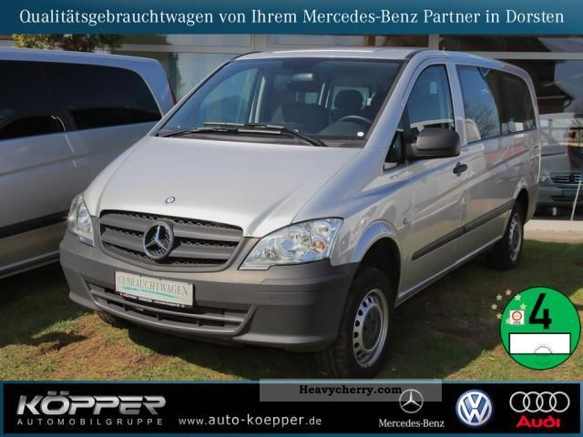 mercedes benz vito 116 cdi 4x4 kb blueeff automatic climate pts 2010 estate minibus up to 9. Black Bedroom Furniture Sets. Home Design Ideas