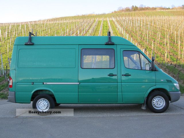 mercedes benz sprinter 316 cdi 2003 box type delivery van. Black Bedroom Furniture Sets. Home Design Ideas