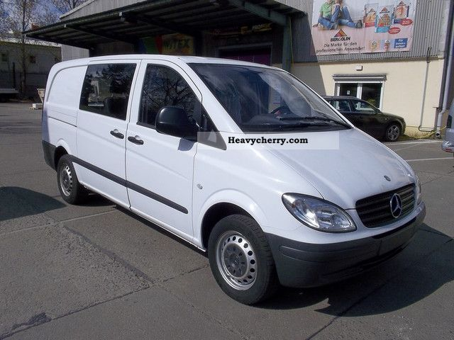 mercedes benz vito 109 cdi dpf mixto 2008 estate minibus up to 9 seats truck photo and specs. Black Bedroom Furniture Sets. Home Design Ideas